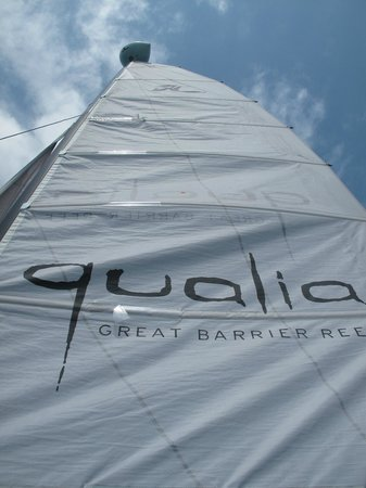 Qualia Resort: Hobie Cat
