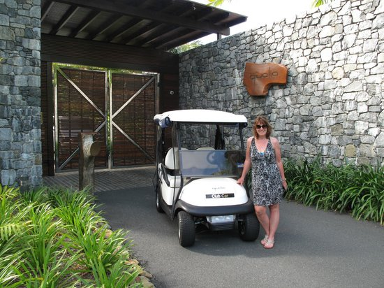 Qualia Resort: Entrance