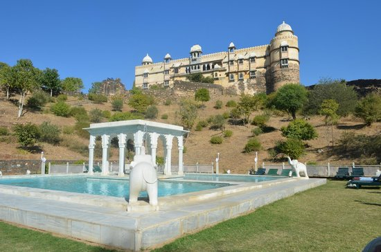 Karni Fort Bambora:                   view from pool