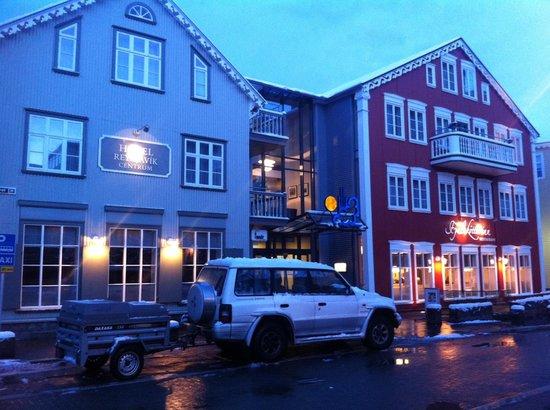 Hotel Reykjavik Centrum:                   Hotel