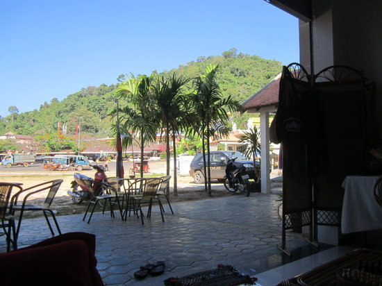 Kep Province, Cambodia:                   Outside view