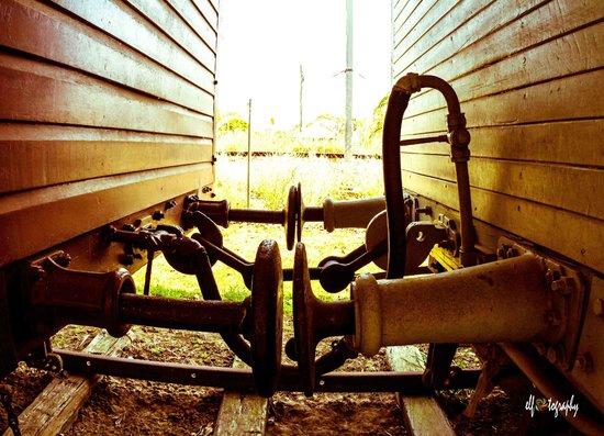 "Bundaberg Railway Museum:                   it's called ""buffer""."