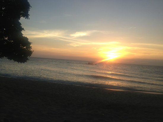 Shangri-La's Boracay Resort & Spa:                   Sunset from Villa 13