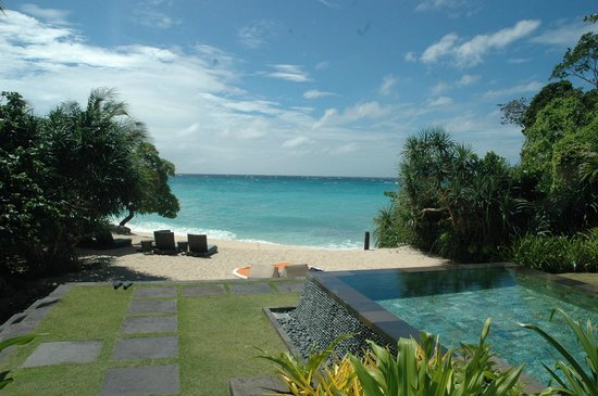 Shangri-La's Boracay Resort & Spa:                   View from Villa 13