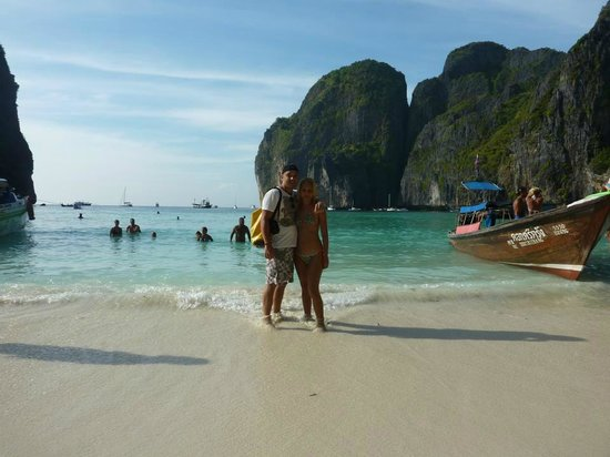Phuket Sail Tours:                   Maya Bay