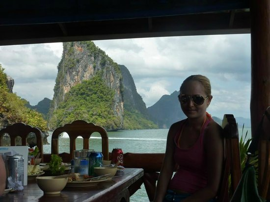 Phuket Sail Tours:                   Lunch with a view