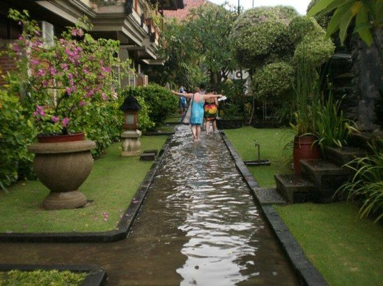 Adi Dharma Cottages:                                     rainy season