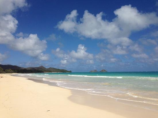 Waimanalo, Hawái:                   just beautiful!