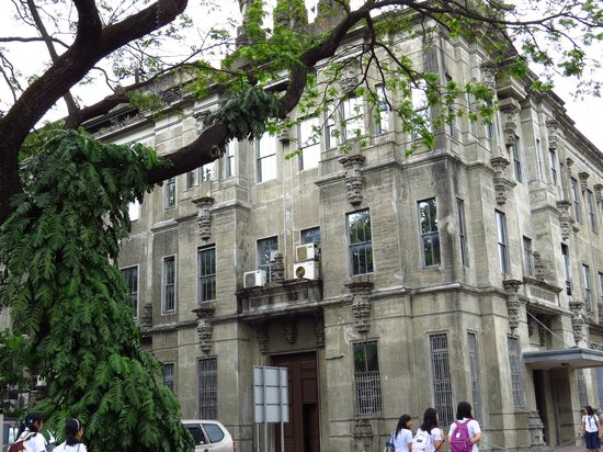 University of Santo Tomas: Another view of Main Building