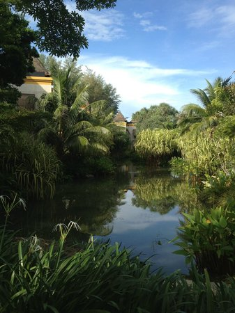 Moevenpick Resort and Spa Karon Beach Phuket:                   Lake in the hotel grounds