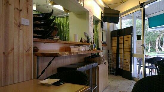 Yume Japanese Restaurant:                   interior seats area