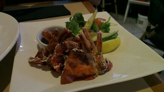Yume Japanese Restaurant :                   soft shell crab, only $10 n it's good!