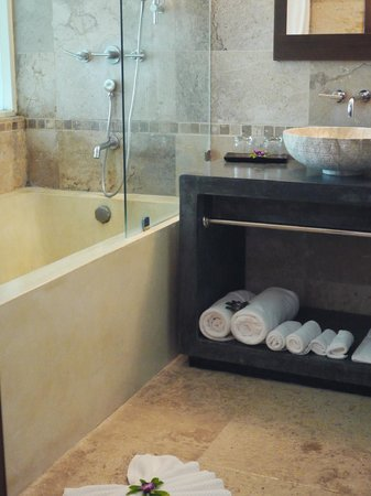 Elements Boutique Resort & Spa Hideaway:                                     bathroom