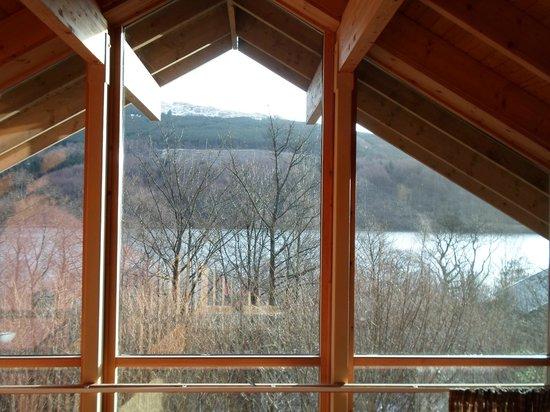 Forest Holidays Strathyre, Scotland:                   View from mezzanine