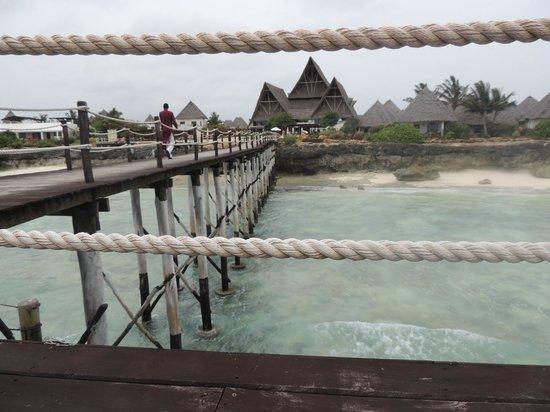 Essque Zalu Zanzibar:                   the hotel from the Jetty