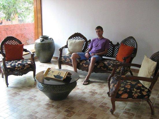 Goa - Villagio, A Sterling Holidays Resort:                   рецепшн