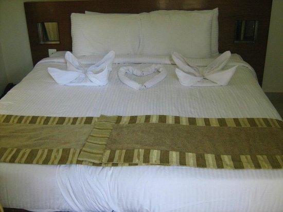 Goa - Villagio, A Sterling Holidays Resort:                   оригинальное оформление номера