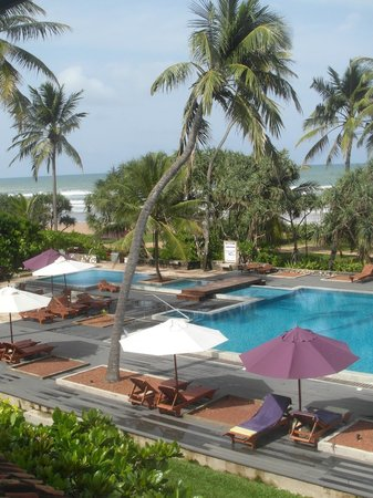 AVANI Bentota Resort & Spa:                   Pool view from our room