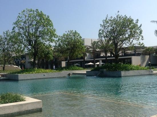 Hyatt Regency Danang Resort & Spa:                   multiple pools, this one is very large with room for laps and frolicking, also