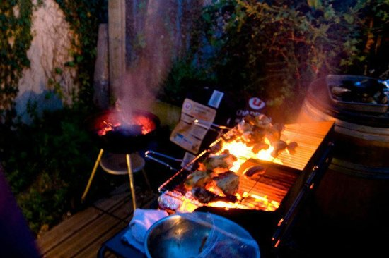 L'entracte : Barbecue party
