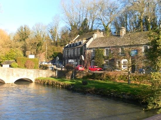 The Swan Hotel:                   Swan at Bibury