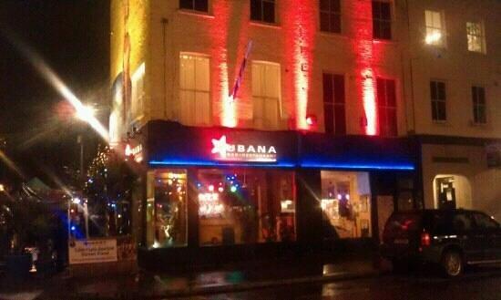 Cubana restaurant near the Old Vic
