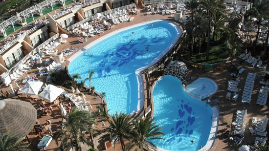 Gloria Palace San Agustin Thalasso & Hotel:                   View from the 9th floor terrace