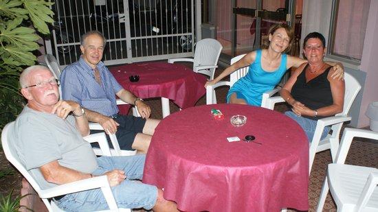 Pensione Fiorella Rimini:                   soiree franco italienne