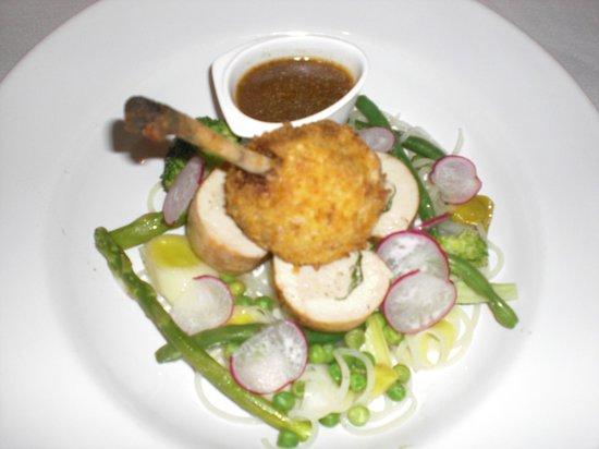 Quintins Restaurante: chicken supreme