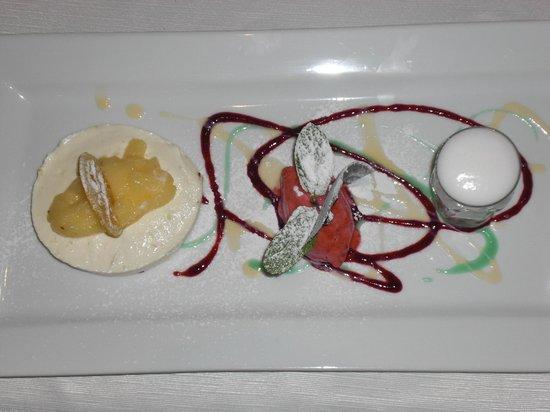 Quintins Restaurante: lemon cheese cake