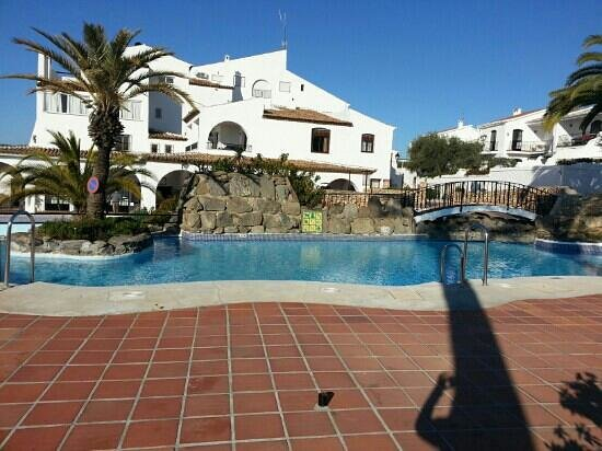 Nerja Villas Capistrano:                   one of the two pools