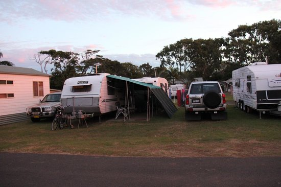 ‪‪Bargara Beach Caravan Park‬:                   Camping at Bagara