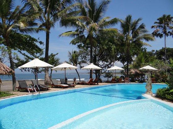 Puri Dajuma Cottages: Pool