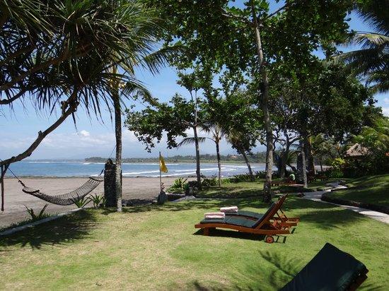 Puri Dajuma Cottages: Aussicht aufs Meer