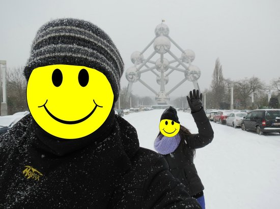 ‪‪Adagio Brussels Centre Monnaie‬:                   That metal thingy