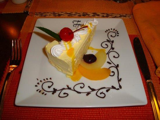 Tourmaline Hotel:                   dessert