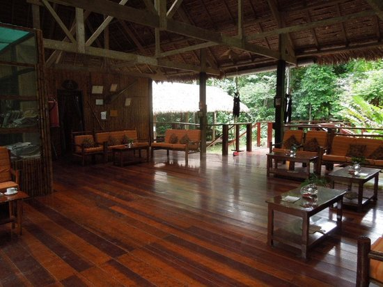 Posada Amazonas :                   Lodge meeting area