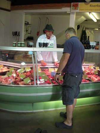 Ben's Organic Farm Shop and Cafe: Rump, Sirloin, or have you ever tried Flat-Iron steak?