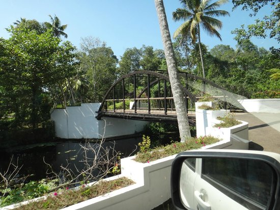 Abad Turtle Beach:                   bridge inside the resort