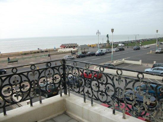 Mercure Brighton Seafront Hotel:                   Balcony view