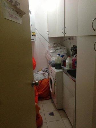 City Lodge:                   convenient laundry next to room 204
