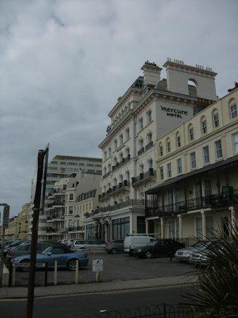 Balcony Picture Of Mercure Brighton Seafront Hotel Brighton Tripadvisor