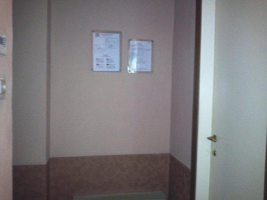 Hotel Chiusarelli: ingresso