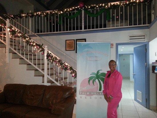 Caribbean Palm Village Resort: comienzo de mi  navidad en Aruba Dios mas fino