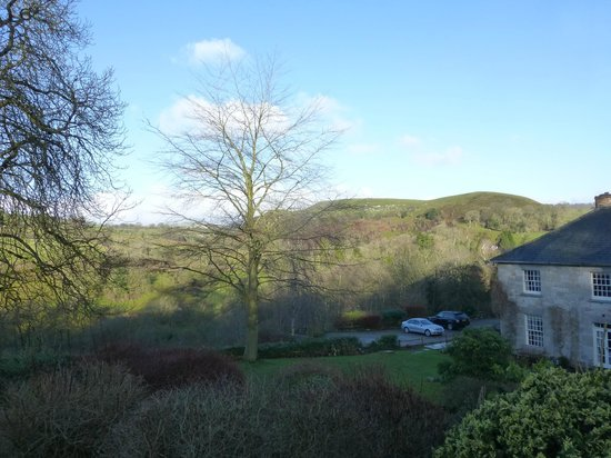 Pen-y-Dyffryn Country Hotel:                   Our view from the cottage