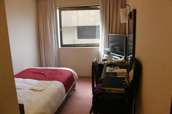 Hotel Keihan Kyoto Grande:                   Single room. Once I understood that the water boiler had to designated functio