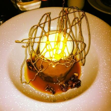 The Candied Walnut Eatery:                   sticky toffee pudding