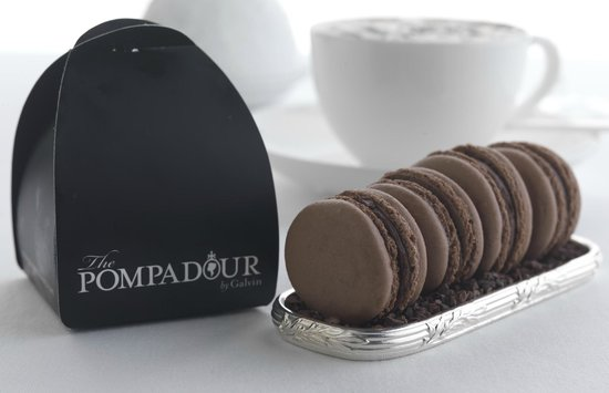 The Pompadour by Galvin: Chocolate Macaroons