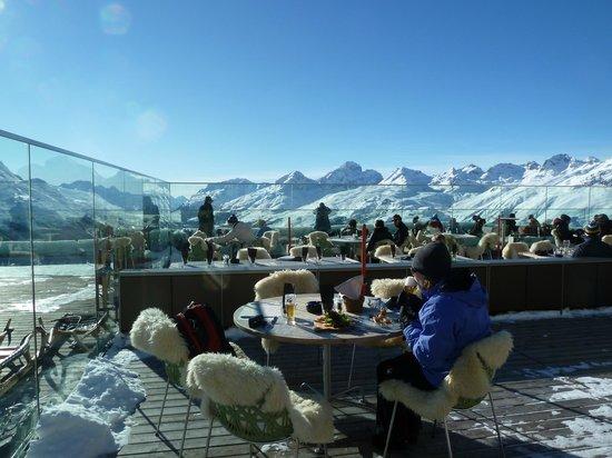 St. Moritz, Switzerland:                   Muottas Muragl 5