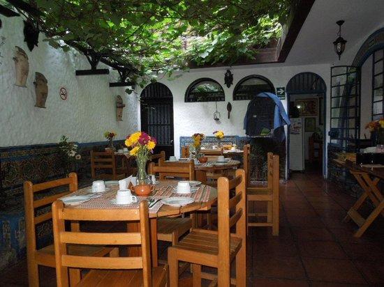 Hostal Buena Vista : breakfast room